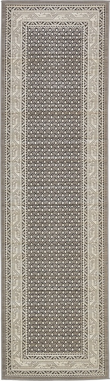 Gray 2 9 X 9 10 Tribeca Runner Rug Area Rugs Esalerugs