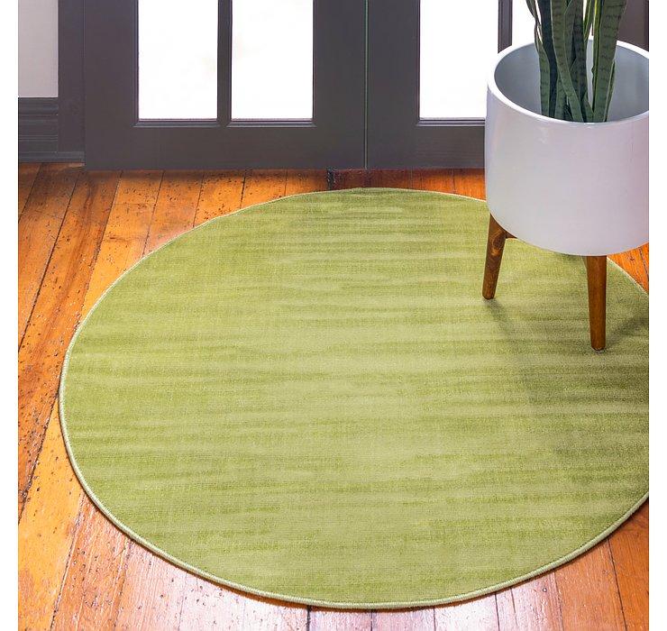 Green SoHo Round Rug