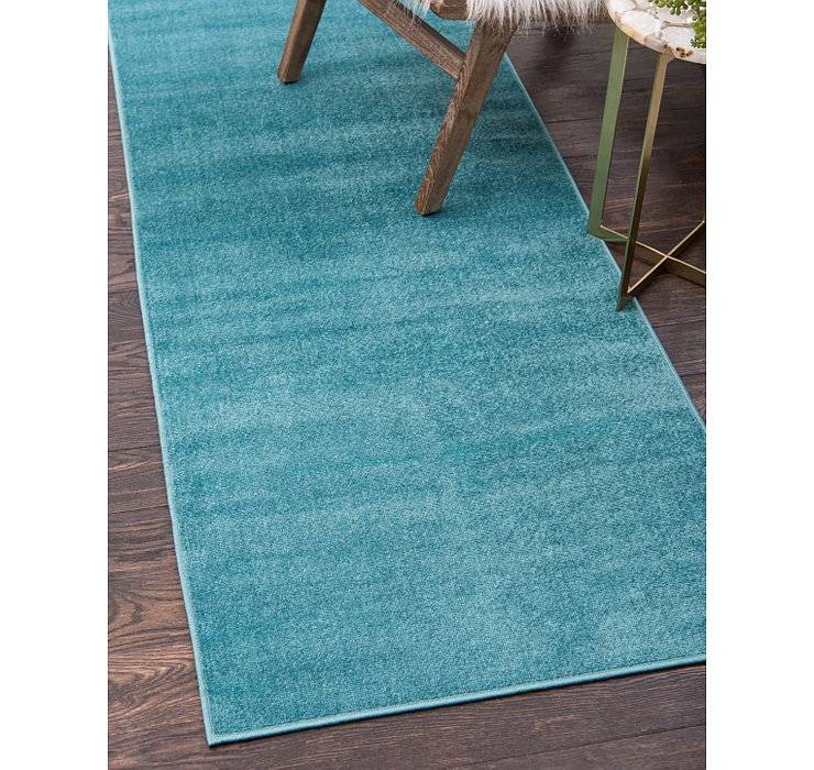 Teal SoHo Runner Rug