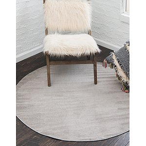 Unique Loom 8' x 8' Williamsburg Round Rug