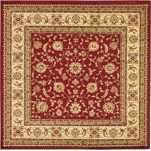8' x 8' Classic Agra Square Rug