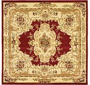 Link to Unique Loom 8' x 8' Versailles Square Rug