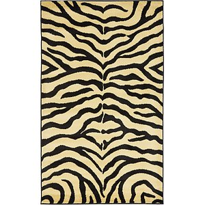 Unique Loom 3' 3 x 5' 3 Wildlife Rug