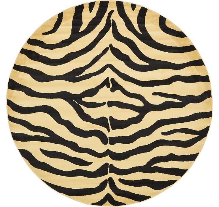 8' x 8' Safari Round Rug