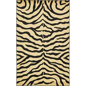 Unique Loom 5' x 8' Wildlife Rug