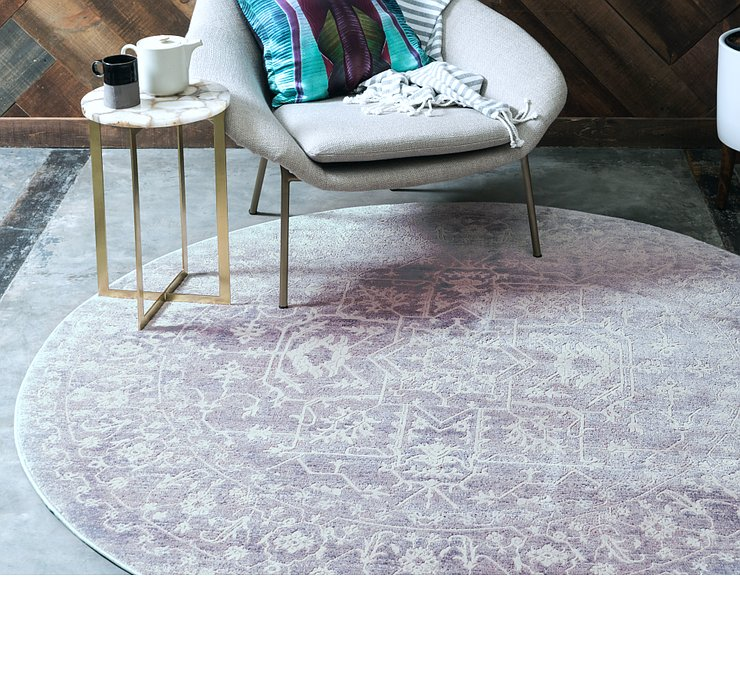 8' x 8' Modern Classical Round ...