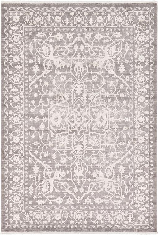 Light Gray 7 X 10 New Vintage Rug Area Rugs Esalerugs