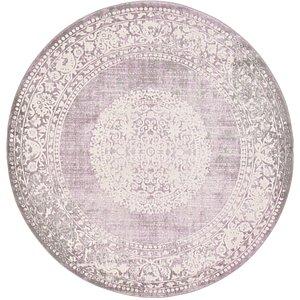 Unique Loom 6' x 6' New Classical Round Rug