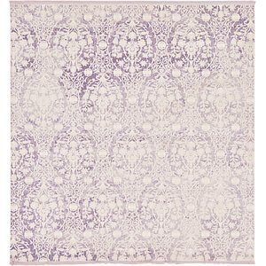 All Squares Purple New Vintage  Rugs