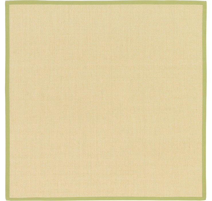 Cream Sisal Square Rug