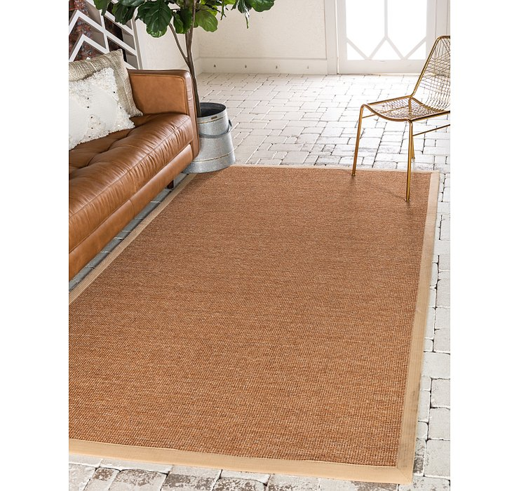 Light Brown Sisal Rug