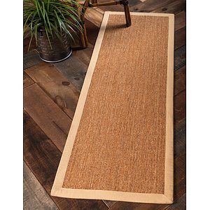 Unique Loom 2' x 6' Sisal Runner Rug