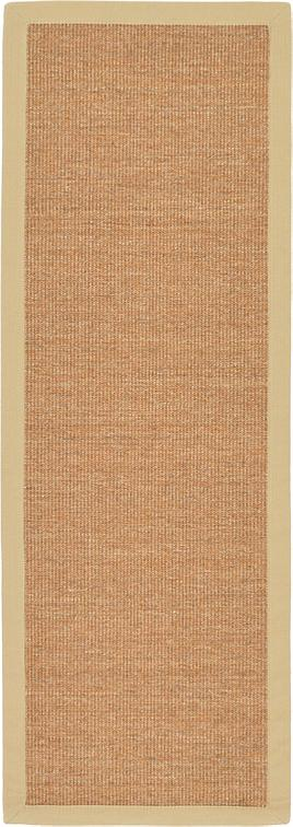 Light Brown 2 X 6 Sisal Runner Rug Area Rugs Esalerugs