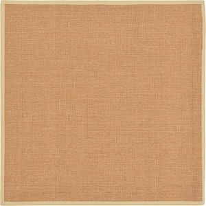 Unique Loom 8' x 8' Sisal Square Rug