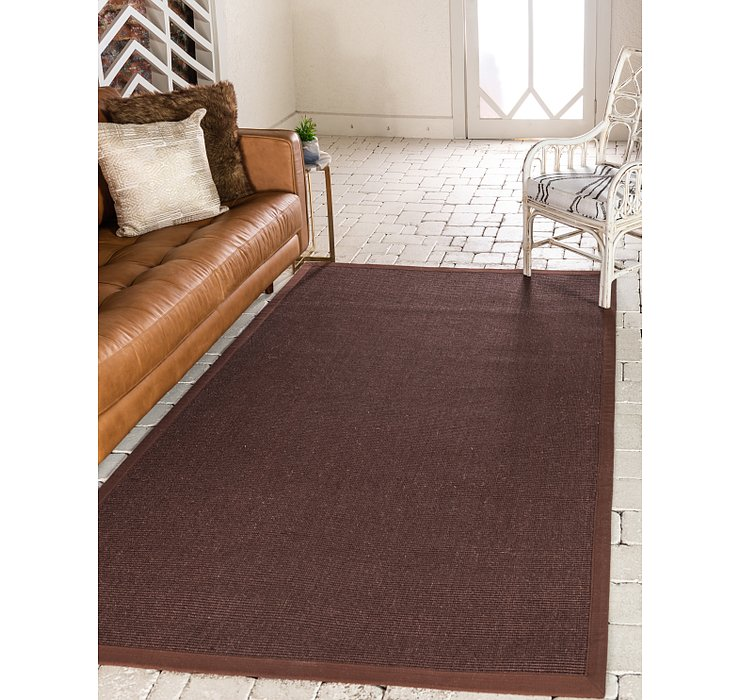Brown Sisal Rug