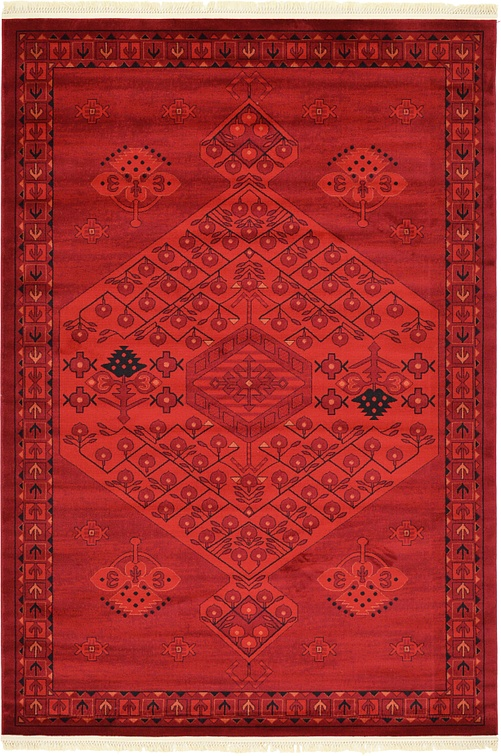 Red 6 X 9 Bokhara Rug Area Rugs Esalerugs