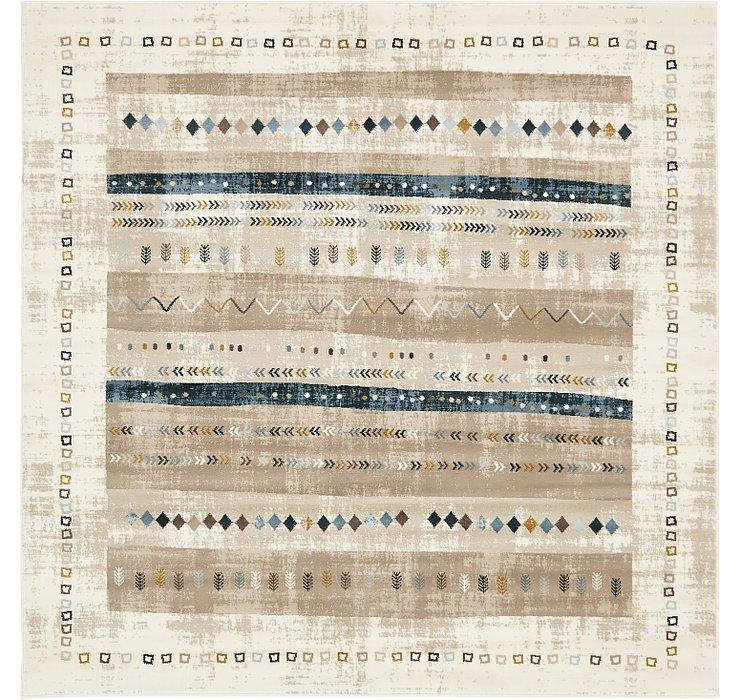 6' x 6' Illusion Square Rug