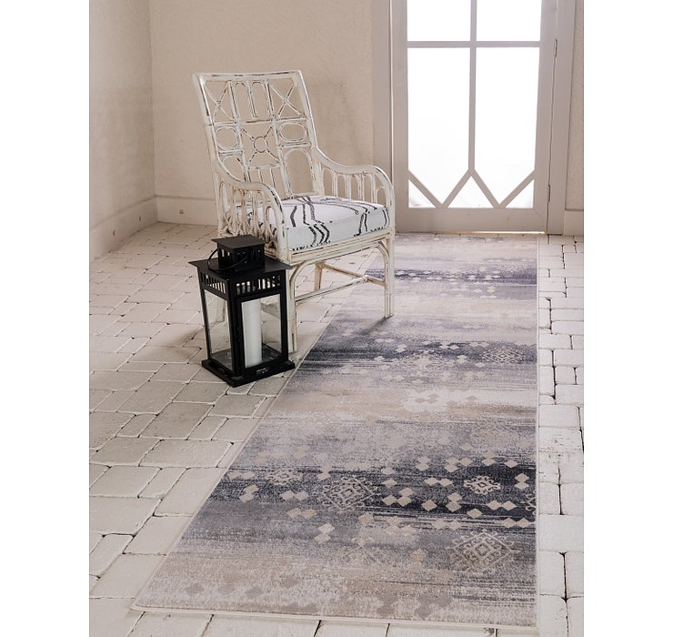 3' x 10' Illusion Runner Rug