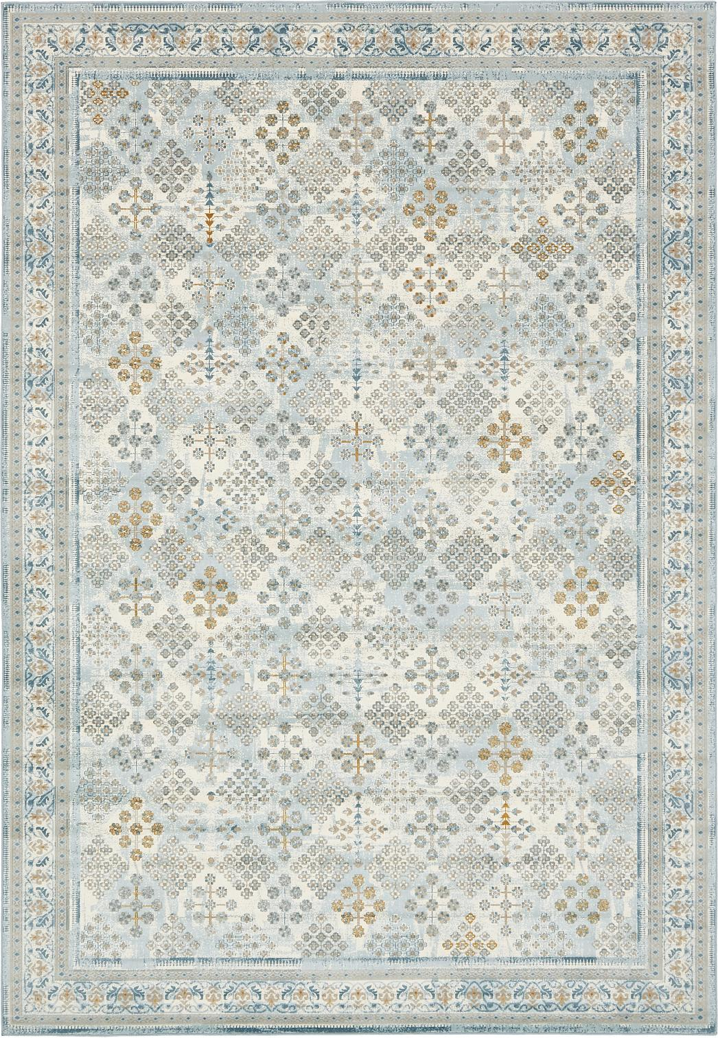 Light Blue 8 X 11 2 Montreal Rug Area Rugs Esalerugs