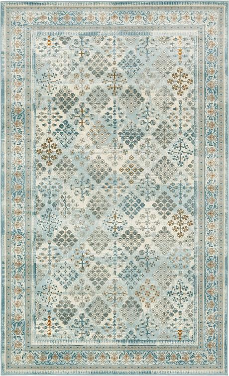 Light Blue 5 X 8 Montreal Rug Area Rugs Esalerugs