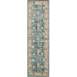 Unique Loom 3' x 10' Cambridge Runner Rug