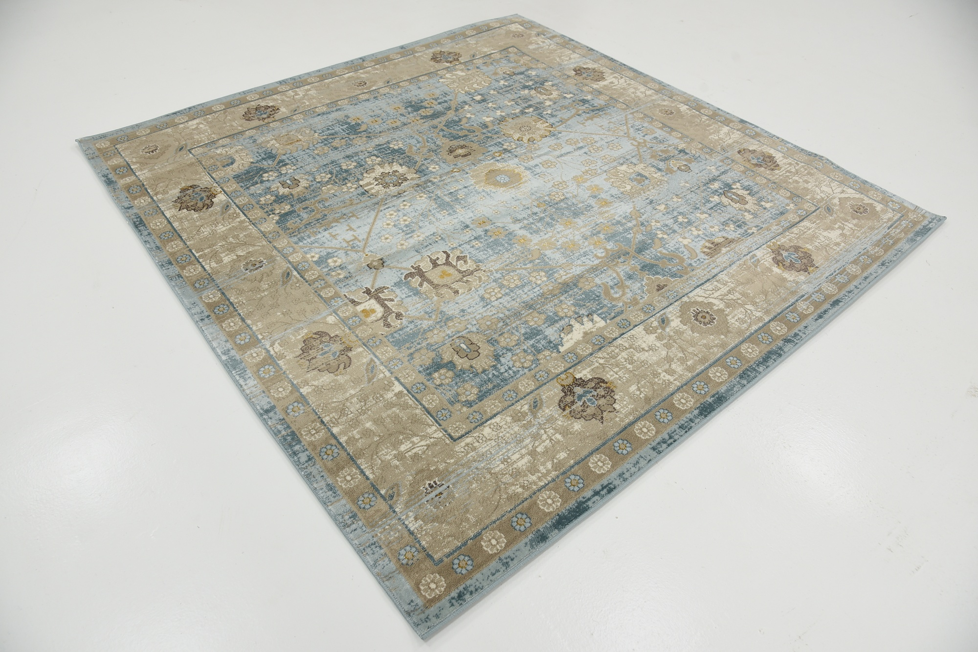 Floor area carpets traditional carpet floral rug vintage for Vintage style area rugs