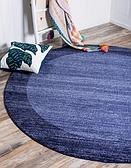 Unique Loom 8' x 8' Del Mar Round Rug thumbnail image 1