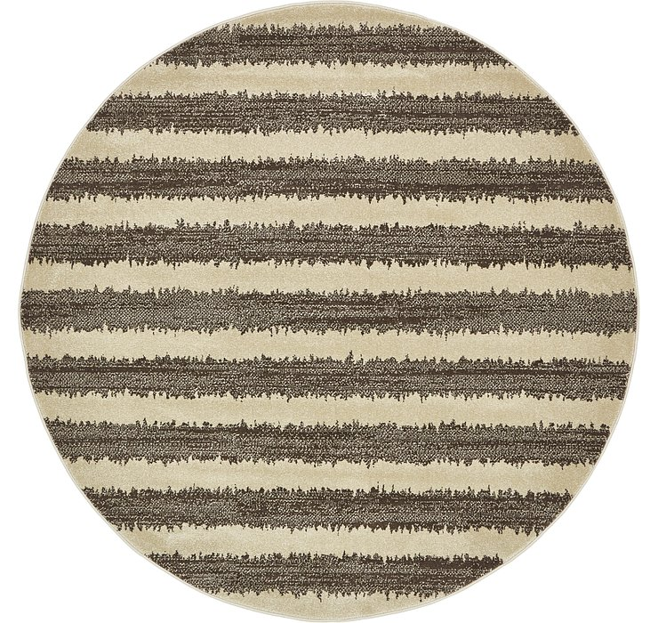 6' x 6' Dimensions Round Rug