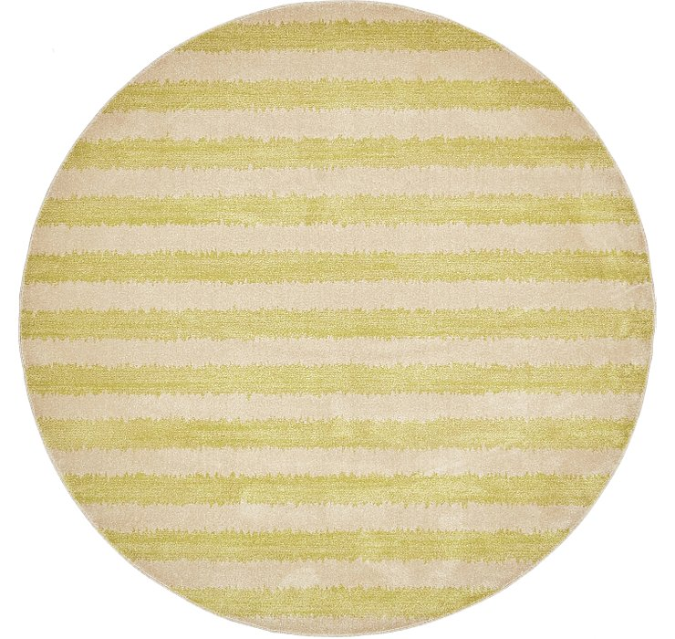 8' x 8' Dimensions Round Rug