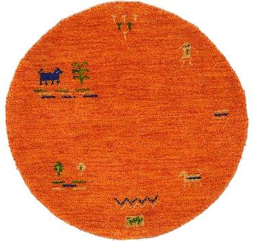71x71 Indo Gabbeh Rug