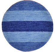 Link to Unique Loom 2' 4 x 2' 4 Indo Gabbeh Round Rug