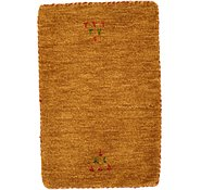 Link to 1' 4 x 2' Indo Gabbeh Rug