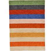 Link to 4' 7 x 6' 6 Indo Gabbeh Rug