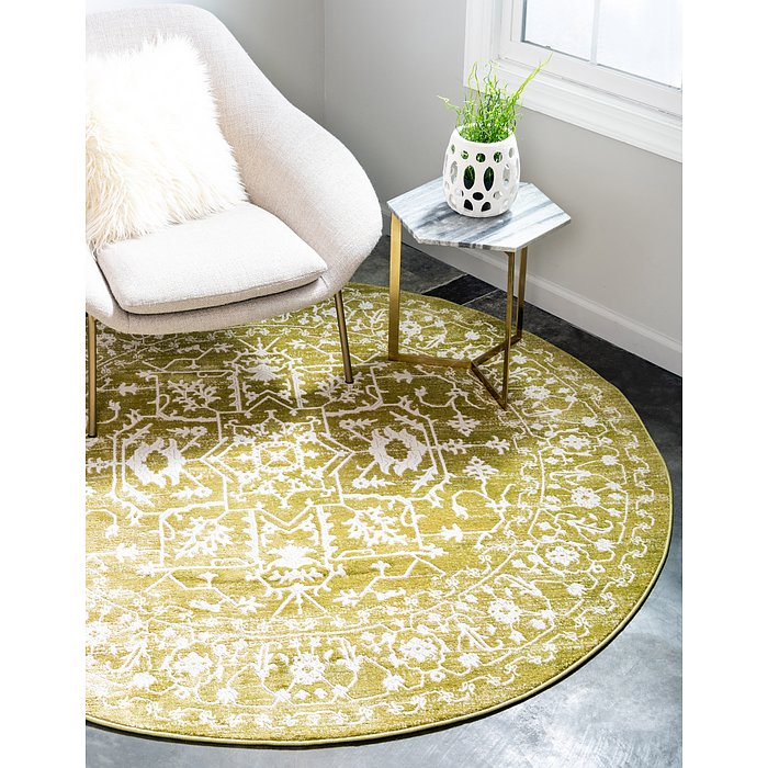 6' x 6' New Classical Round Rug