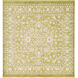 Unique Loom 8' x 8' New Classical Square Rug