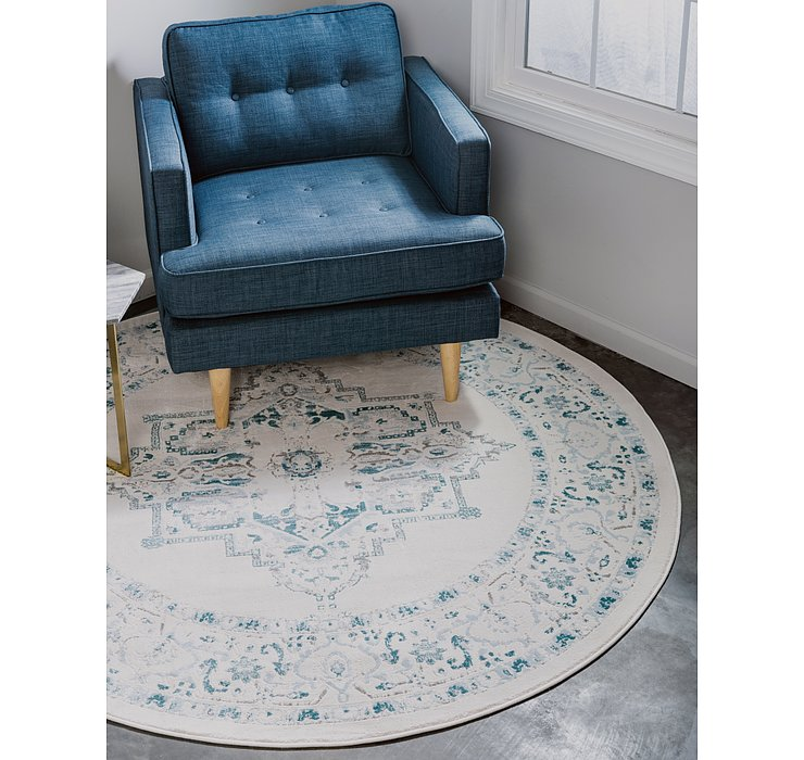 4' x 4' Modern Classical Round ...