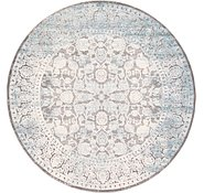 Link to 245cm x 245cm New Vintage Round Rug