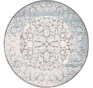 Link to 183cm x 183cm New Vintage Round Rug