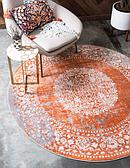 183cm x 183cm New Vintage Round Rug thumbnail image 1