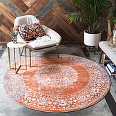 183cm x 183cm New Vintage Round Rug thumbnail image 4