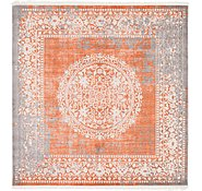 Link to 8' x 8' New Vintage Square Rug