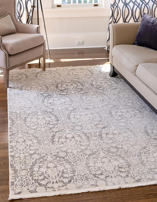 Light Gray 10 X 13 New Vintage Rug Area Rugs Rugs Ca