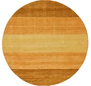 Link to HandKnotted 8' x 8' Indo Gabbeh Round Rug
