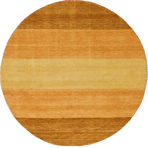 Unique Loom 8' x 8' Indo Gabbeh Round Rug