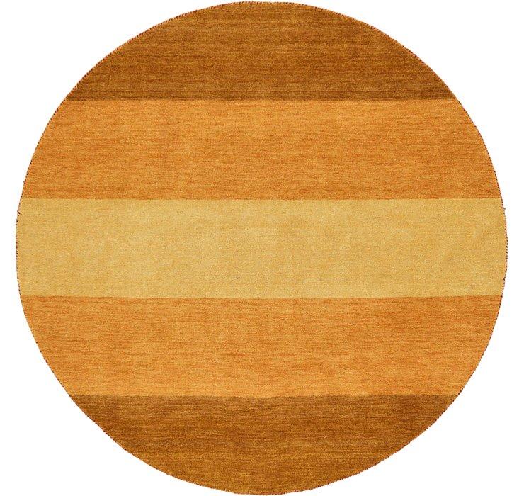 6' 5 x 6' 5 Indo Gabbeh Round Rug