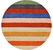 Link to HandKnotted 5' 7 x 5' 7 Indo Gabbeh Round Rug