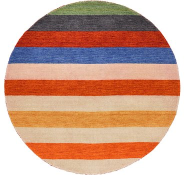 193x193 Indo Gabbeh Rug