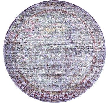 183x183 Aqua Rug