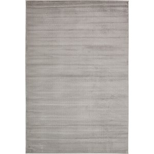 6' x 9' Textured Solid Rug