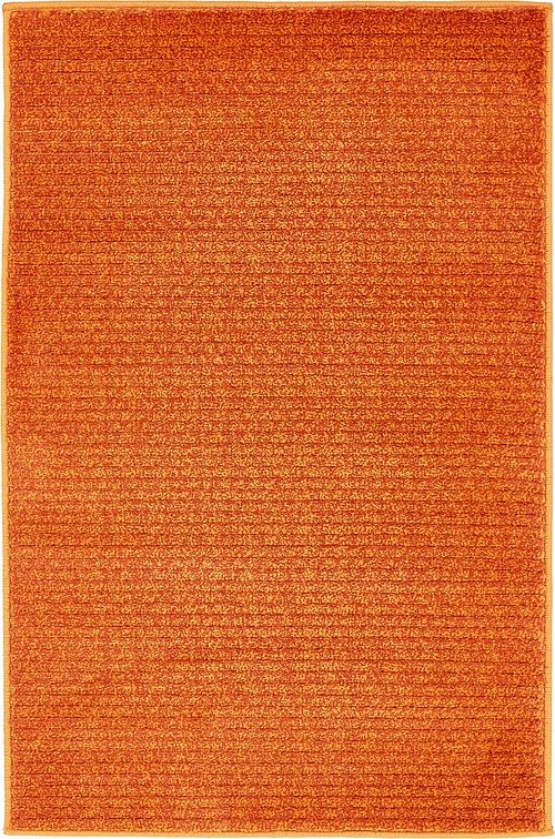 Orange 2 X 3 Textured Solid Rug Area Rugs Esalerugs